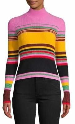 Diane von Furstenberg Ribbed Turtleneck Sweater