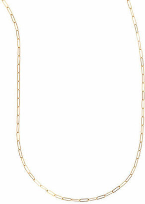"Sarah Chloe Plated Oval-Link Chain Necklace, 36""L"
