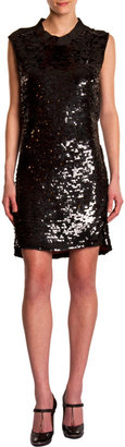 Lanvin Sleeveless Sequin Dress