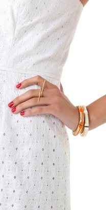 Jacquie Aiche Snake Flat Bar Ring