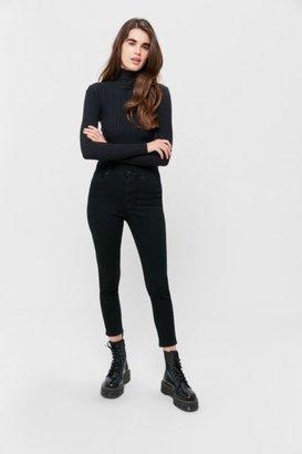 BDG Twig Grazer High-Waisted Skinny Jean - Black