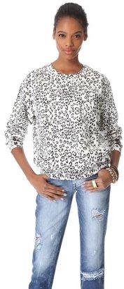 Balmain Pierre Cheetah Sweatshirt