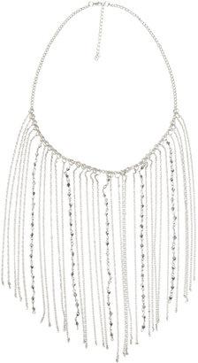 Arden B Bead & Fringe Necklace
