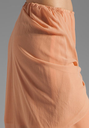 See by Chloe Uneven Hem Wrap Around Skirt