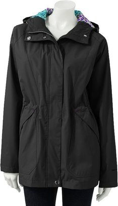 Free Country hooded water-resistant anorak jacket