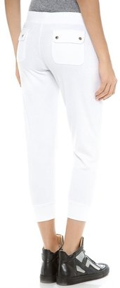 Juicy Couture Terry Slim Capri Pants