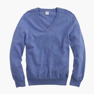 J.Crew Boys' cotton-cashmere V-neck sweater