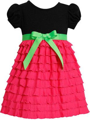 Bonnie Baby Dress, Baby Girls Eyelash Dress