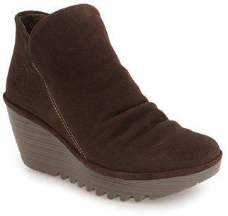 Women's Fly London 'Yip' Wedge Bootie $184.95 thestylecure.com