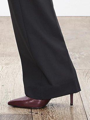 Banana Republic Jackson-Fit Black Lightweight Wool Trouser
