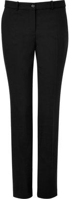 Michael Kors Black Classic Wool Pants