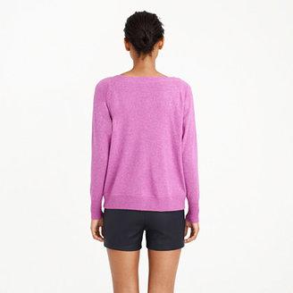 J.Crew Collection cashmere sweatshirt