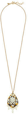 J.Crew Crystal fiesta necklace