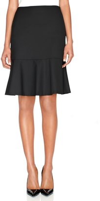 The Limited Black Collection High Waisted Flounce Skirt