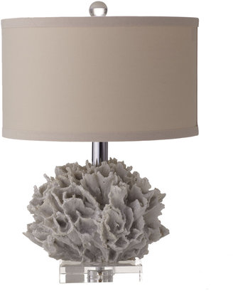 "Horchow Regina-Andrew Design ""White Coral"" Mini Lamp"