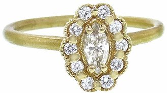 Marquis Mosaic Ring - Yellow Gold