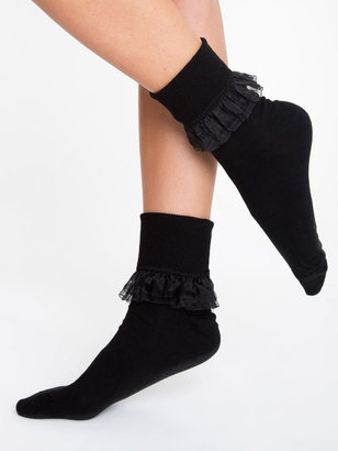 American Apparel Girly Lace Ankle Sock