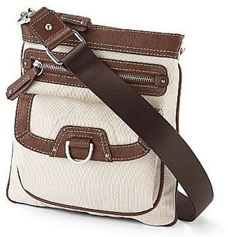 JCPenney St. John's Bay® Jordan Nylon Crossbody Bag