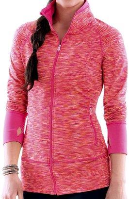Moving Comfort Foxie Shirt - Full Zip, Long Sleeve (For Women)