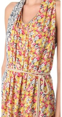 Yigal Azrouel Floral Maxi Dress