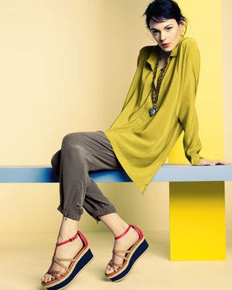 Eileen Fisher Silk Cargo Pants, Women's
