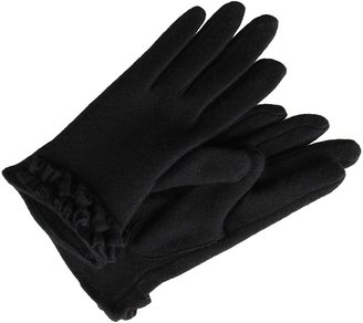 Echo Pleated Cuff Gloves (Black) - Accessories