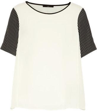 Tibi Silk crepe de chine T-shirt