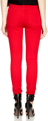 Rebecca Minkoff Thompson Twill Midrise Skinny Jean