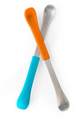 Boon 2-pk. Swap Baby Utensils - Blue/Red