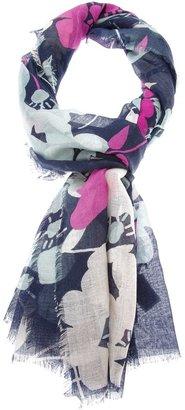 Diane von Furstenberg floral scarf