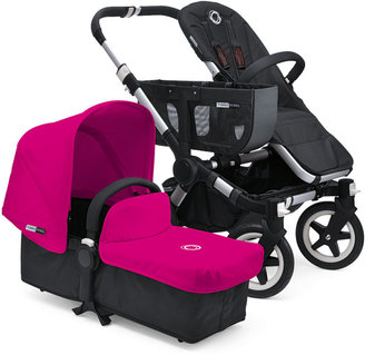 Bugaboo Donkey Stroller & Tailored Fabric Set, Pink