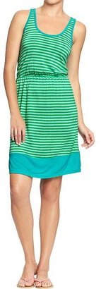 Old Navy Women's Tipped Jersey Tank Dresses