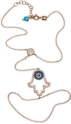 Belair Gold Design Hamsa Evil Eye Harem Bracelet