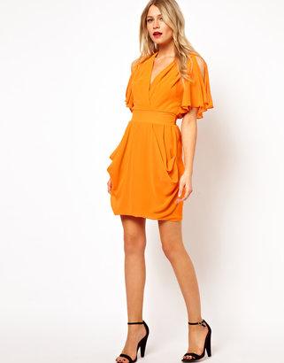 Love Tulip Dress With Cold Shoulder
