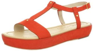Elizabeth and James Women's E-Cree Slingback Sandal,Coral Nubuck,9 M US
