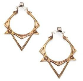 Bing Bang Sun Spike Drop Earrings