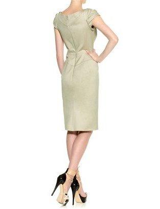 Zac Posen Jade Cap Sleeve Pencil Dress