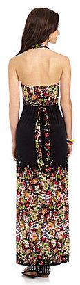 Catch My I Cascade Floral Maxi Dress