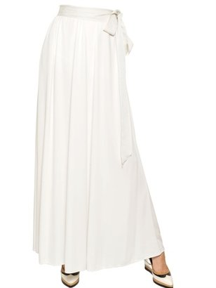 Lanvin Viscose Jersey Dress/Long Skirt