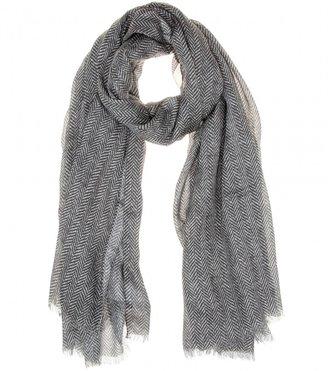 Dolce & Gabbana Herringbone-print scarf