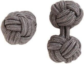 Barneys New York Knotted Silk Cufflinks