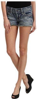 Affliction Vikki Studded Short in Outback (Outback) - Apparel
