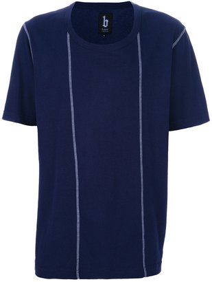 B Store stitch detail t-shirt