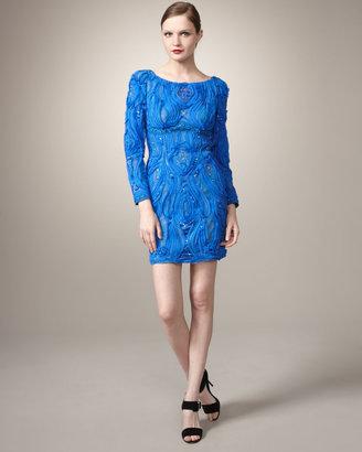 Mandalay Textured Pattern Dress