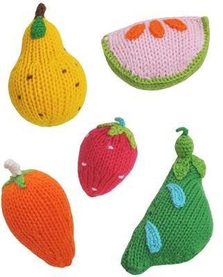 Blabla Fruit & Veggie Rattles