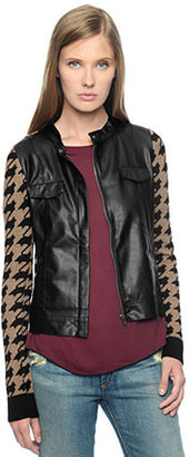 Ella Moss Georgina Houndstooth Sweater Jacket
