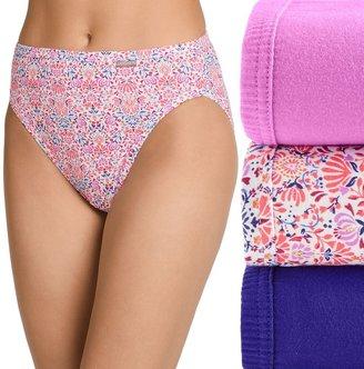 Jockey Women's Elance 3-Pack French Cut Panties 1485