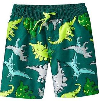 Old Navy Dinosaur-Print Swim Trunks for Baby
