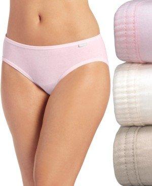 Jockey Elance Bikini Underwear 3 Pack 1481 1489 (Also available in plus sizes)