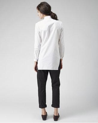 Carven looped collar shirt